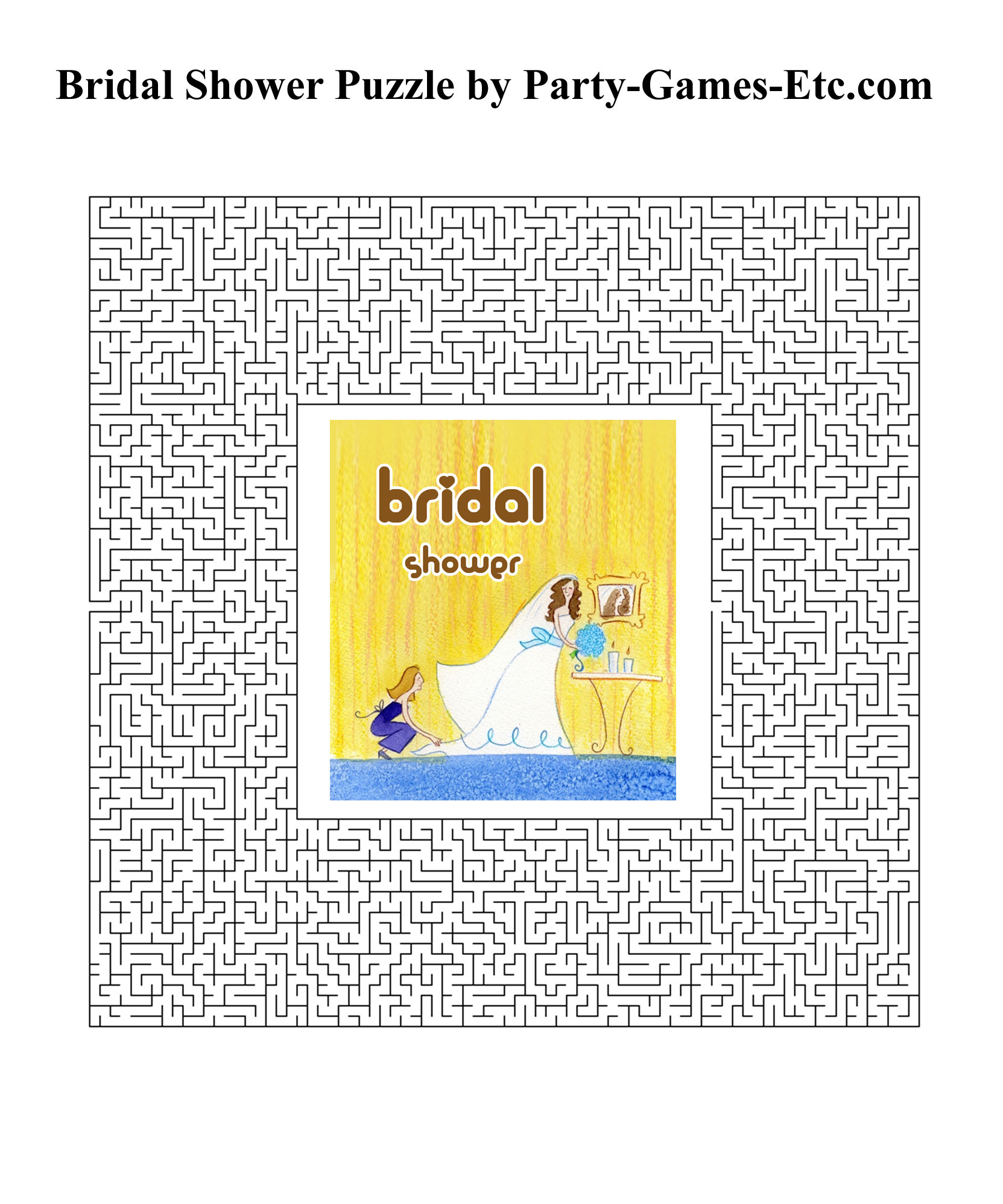 free printable bridal shower party game and pen and paper activity