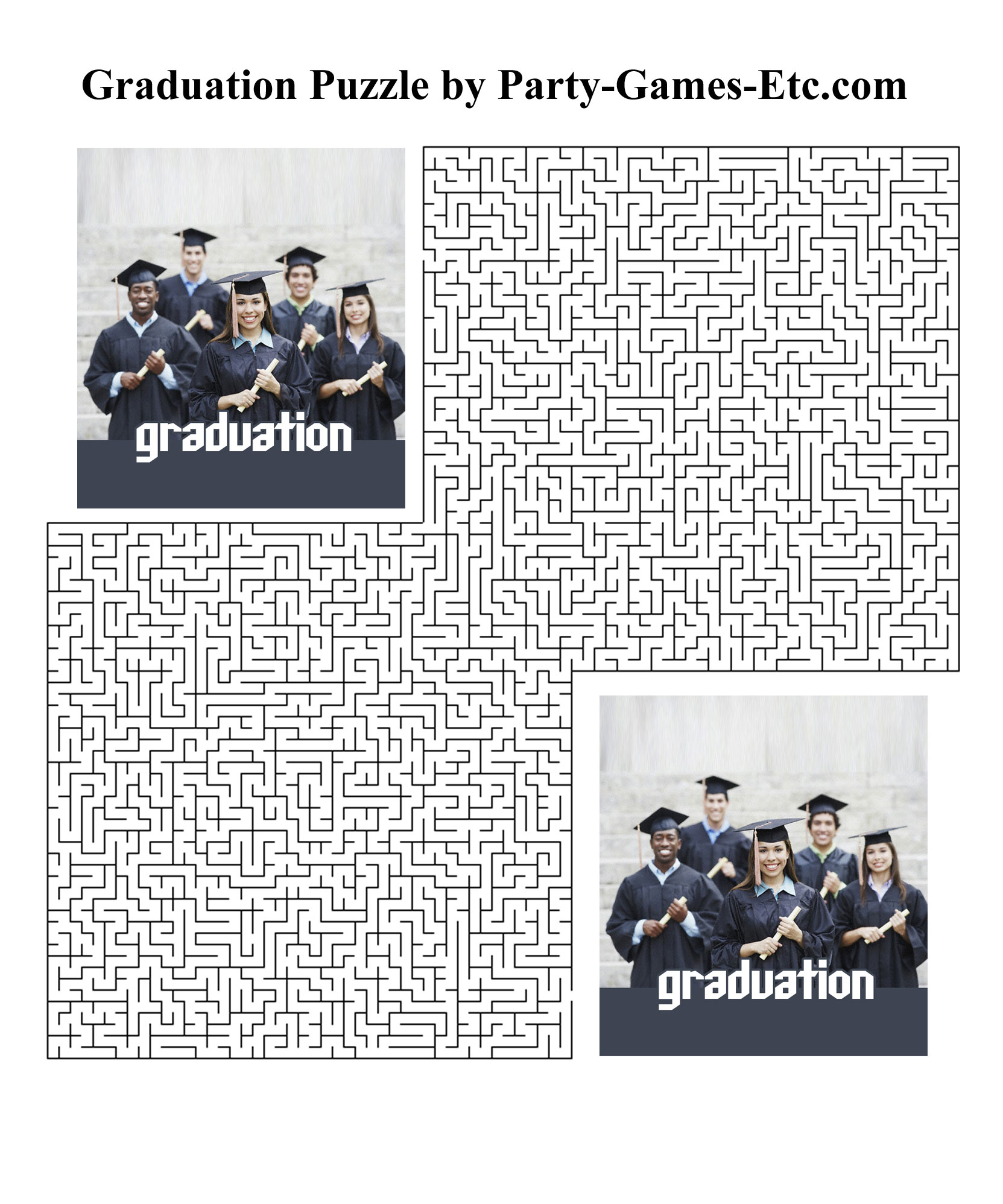 Free Printable Graduation Party Game and Pen and Paper Activity
