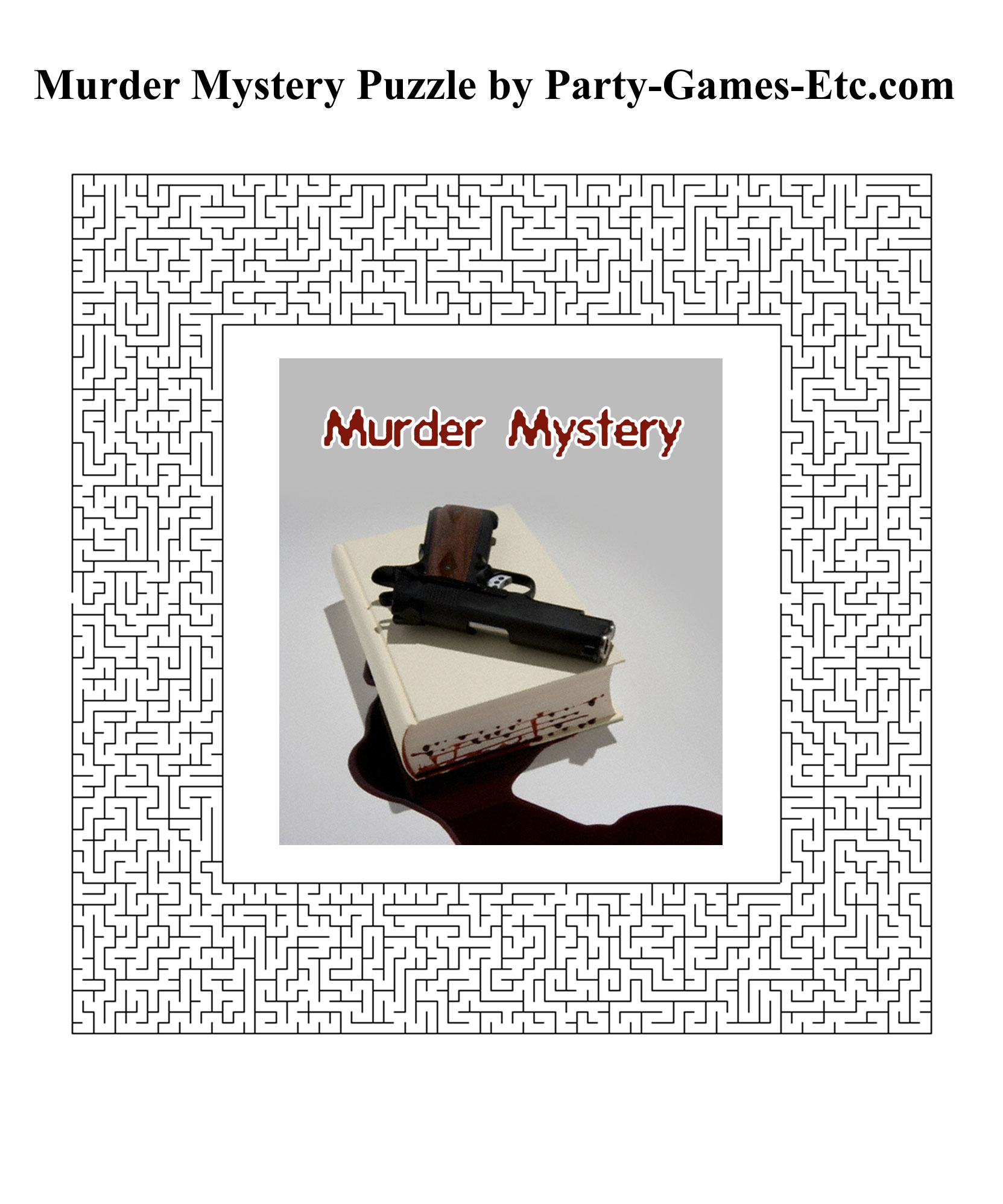 image about Free Printable Mystery Games identified as Murder Secret Occasion Online games, Absolutely free Printable Video games and
