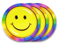 Happy Face Party Supplies ...  sc 1 st  Party Games Etc & Happy Face Party Supplies and Printable Games for Theme Parties