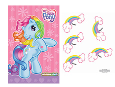 My Little Pony Party Supplies and Printable Games for Birthday Parties