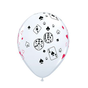 Poker Party Supplies: Balloons