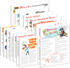 All Pirate Party Games + FREE Party Games