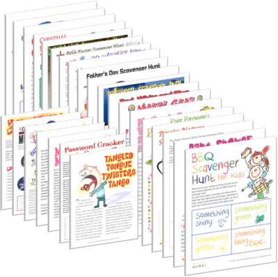 Printable Mad Libs Games