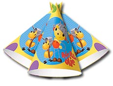 Rolie Polie Olie Party Supplies