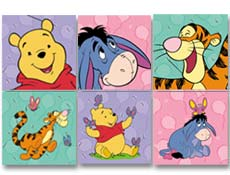 Winnie the Pooh Birthday Party Supplies picture