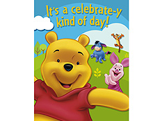 Winnie the Pooh Birthday Party Supplies picture 1